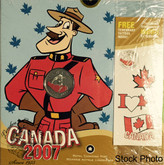 Canada: 2007 25 Cent Oh Canada Coin in Folder