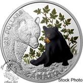 Canada: 2015 $20 Baby Animals: Black Bear Silver Coin