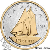 Canada: 2015 10 Cent Big Coin Series 10-cent Silver Coin