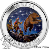 Canada: 2015 $25 Star Charts: The Great Ascent