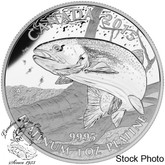 Canada: 2015 $300 North American Sportfish: Rainbow Trout Platinum Coin