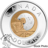 Canada: 2012 $5 Niobium Hunter's Moon Sterling Silver Coin