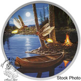 Canada: 2015 $30 Moonlight Fireflies Silver Coin