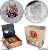 Canada: 2015 $20 Fine Silver Coin Looney Tunes: Merrie Melodies BUGS BUNNY TWEETY SYLVESTER