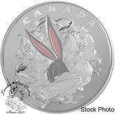 Canada: 2015 $250 Fine Silver Coin Looney Tunes™: Ensemble Cast