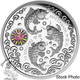 Canada: 2015 $15 Maple of Prosperity Silver Coin