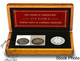 Canada: 2008 50 Cent 100th Anniversary of the Mint Coin & Stamp Set