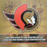 Canada: 2006 Ottawa Senators Logo Coin Set with Coloured 25 Cent