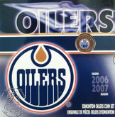 Canada: 2007 Edmonton Oilers Logo Coin Set with Coloured 25 Cent