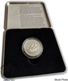Canada: 1999 50 Cent First International Yacht Race Canada vs USA Sterling Silver Coin