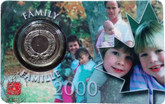 Canada: 2000 25 Cent August Family Coin and Collector Card
