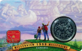 Canada: 1999 25 Cent July Coin and Collector Card
