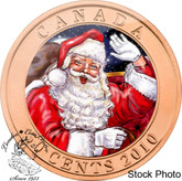 Canada: 2010 50 Cent Santa and the Red-nosed Reindeer Coin