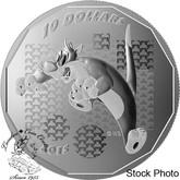 """Canada: 2015 $10 Looney Tunes™ """"Suffering Succotash!"""" Sylvester Silver Coin"""