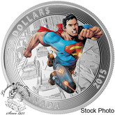 Canada: 2015 $20 Iconic Superman䋢 Comic Book Covers: Action Comics #1 Silver Coin