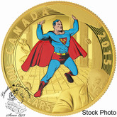 Canada: 2015 $100 Iconic Superman™ Comic Book Covers: Superman #4 Gold Coin