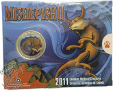 Canada: 2011 25 Cent Canadian Mythical Creatures - Mishepishu Coin