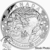 Canada: 2015 $10 Canoe Across Canada: Exquisite Ending Silver Coin