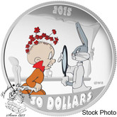 Canada: 2015 $30 Looney Tunes‰ Classic Scenes: The Rabbit of Seville Silver Coin