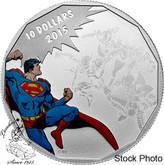 Canada: 2015 $10 Superman DC Comics™ Originals: Gauntlet Silver Coin