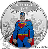 Canada: 2015 $10 Superman DC Comics™ Originals: Legacy Silver Coin