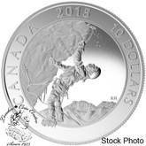 Canada: 2015 $10 Adventure Canada: Ice Climbing Silver Coin