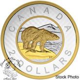 Canada: 2015 $2 Big Coin Series: 5 Ounce Gold Coin