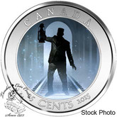 Canada: 2015 25 Cent Haunted Canada: Brakeman Coin