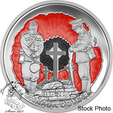 "Canada: 2015 $1 100th Anniversary of ""In Flanders Fields"" Limited Edition Proof Silver Dollar Coin"