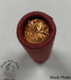 Canada: 1969 1 Penny / Cent Original Roll (50 Coins)