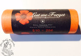 Canada: 2004 25 Cents Poppy Roll Coin (40 Coins)