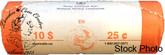 Canada: 2006 P Caribou 25 Cent Original Roll (40 Coins)