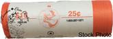 Canada: 2007 Alpine Skiing 25 Cent Original Roll (40 Coins)