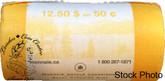 Canada: 2006P 50 Cent Original Roll (25 Coins)