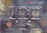 Canada: 1999-P Test Token Proof Like / Uncirculated Coin Set