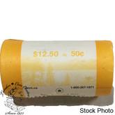 Canada: 2008 Logo 50 Cent Original Roll (25 Coins)