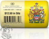 Canada: 2013 50 Cent Special Wrap Coin Roll (25 Coins)
