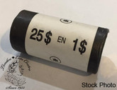 Canada: 2004 Loon Dollar Original Roll (25 Coins)