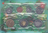 Canada: 2003 Proof Like / Uncirculated Coin Set