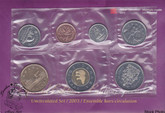 Canada: 2003-W Proof Like / Uncirculated Coin Set