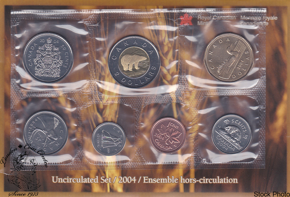 Canada 2004 Proof Like Uncirculated Coin Set London