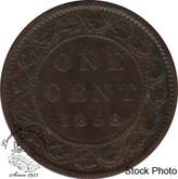 Canada: 1858 1 Cent F12