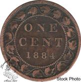 Canada: 1884 1 Cent Obv #2 F12