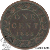 Canada: 1886 1 Cent Obv #1 VG8