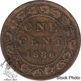 Canada: 1886 1 Cent Obv #1 EF40
