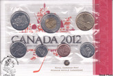 Canada: 2012 Proof Like / Uncirculated Coin Set