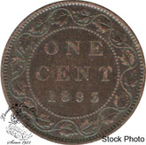 Canada: 1893 1 Cent F12