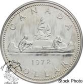Canada: 1972 $1 Voyageur Design Silver Dollar Coin