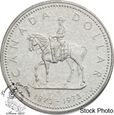 Canada: 1973 $1 Royal Canadian Mounted Police Centennial Silver Dollar  Coin