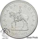 Canada: 1973 $1 Royal Canadian Mounted Police Centennial Silver Dollar  Coin